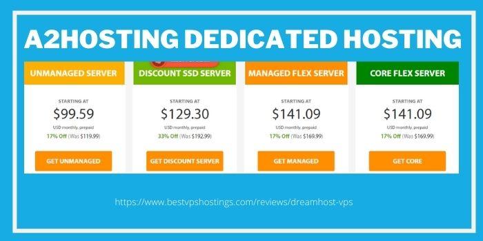 A2 hosting dedicated hosting