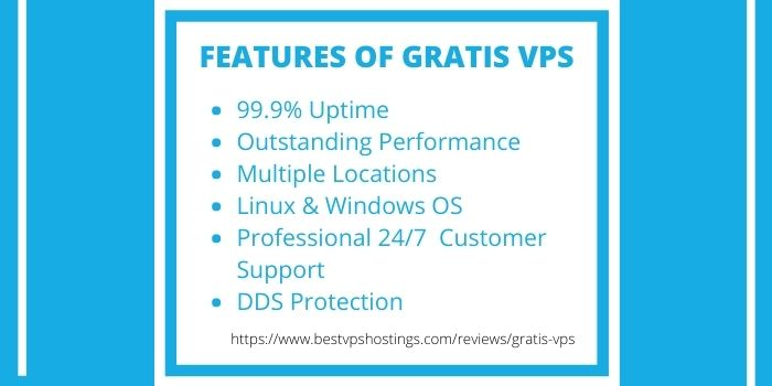 Gratis VPS Hosting Review- Features