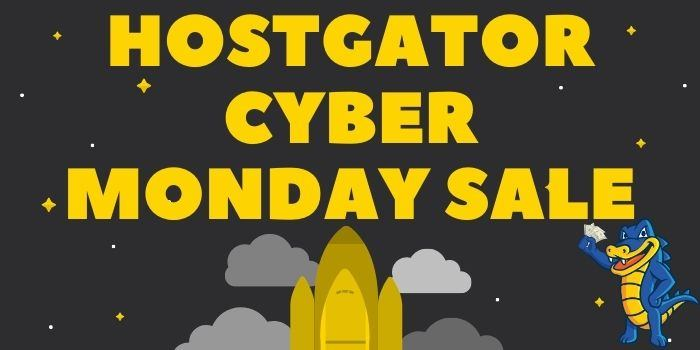 HostGator Cyber Monday Deals 2021